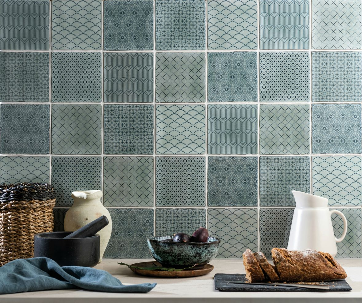 Winchester Residence Manoir Mint Patchwork