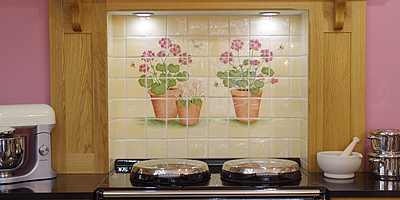 Hand Decorated Tile Murals