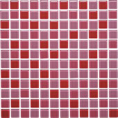 Mixed Glass Mosaic Red GW-REDMOS